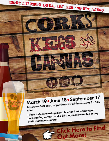 Corks Kegs and Canvas