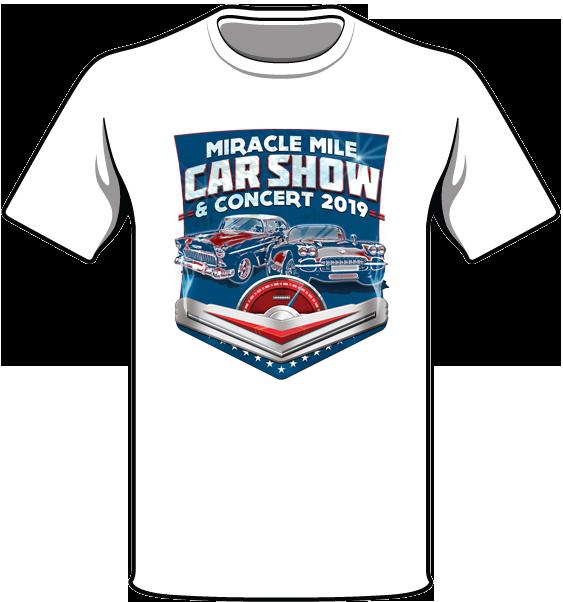 Miracle Mile Car Show Shirt