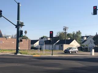 street corner and building